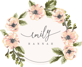 Emily Hannah Photography – North East wedding photographer, newcastle wedding photographer, north yorkshire wedding photographer logo